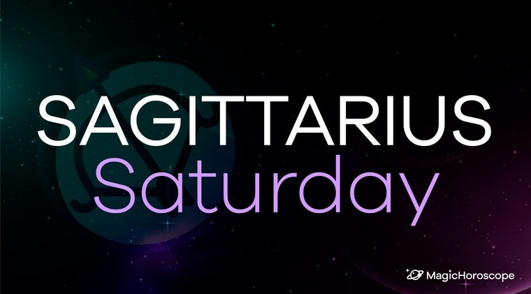 Sagittarius Horoscope Saturday