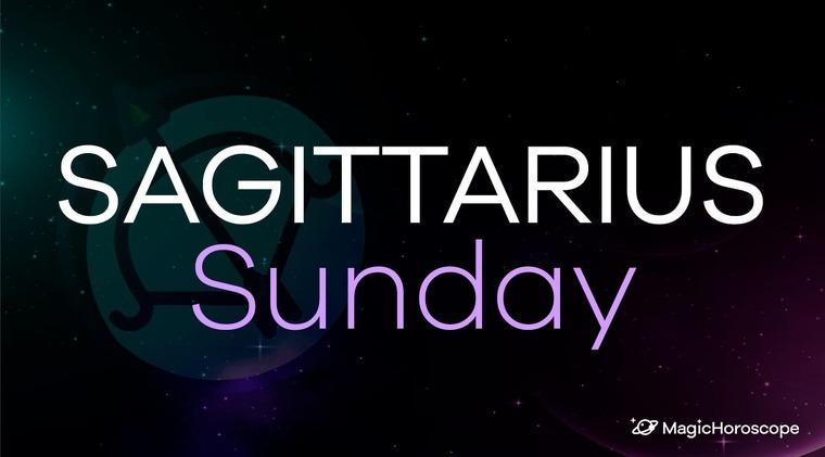 Sagittarius Horoscope Sunday