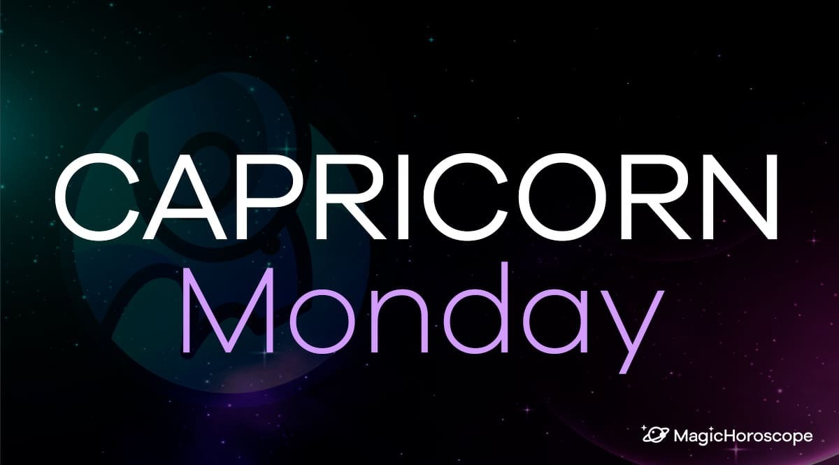 Capricorn Horoscope Monday
