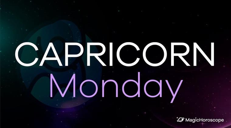 Capricorn Horoscope Monday