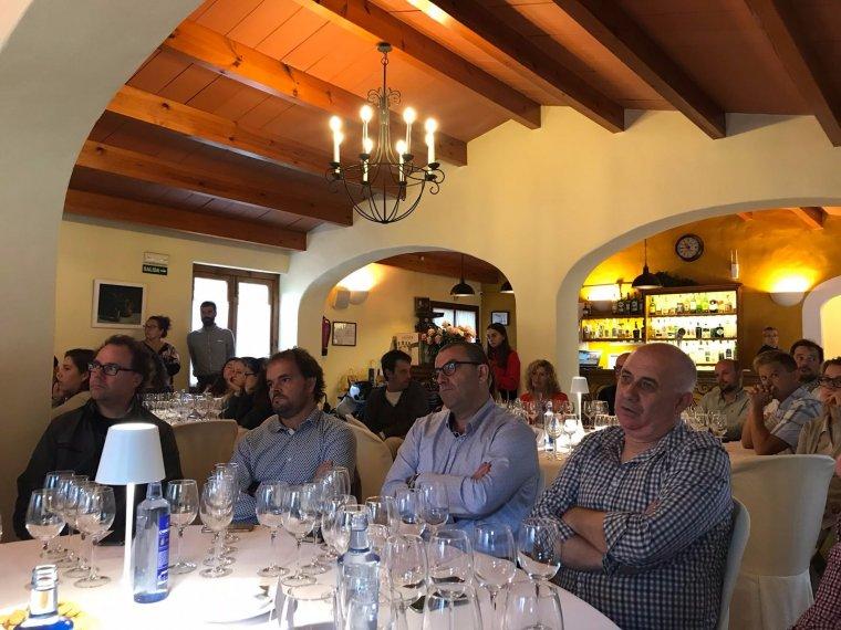 Els assistens a Diàlegs amb la biosfera del Consell de Menorca