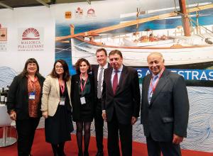El Ministre d'Agricultura, Pesca i Alimentació ha inaugurat aquest matí l'estand dels Consells Reguladors Formatge Maó Menorca, Sobrassada de Mallorca i Vins de Pla i Llevant.