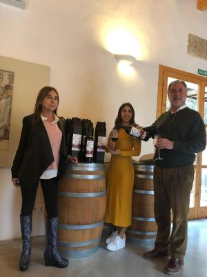 Sebastià Cañellas presenta la nova etiqueta de Pecat a Son Simó Vell