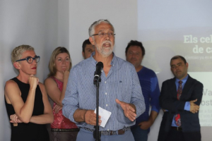 Mateu Ginard intervengué a la presentació de Balears Vadeví, ara fa un any
