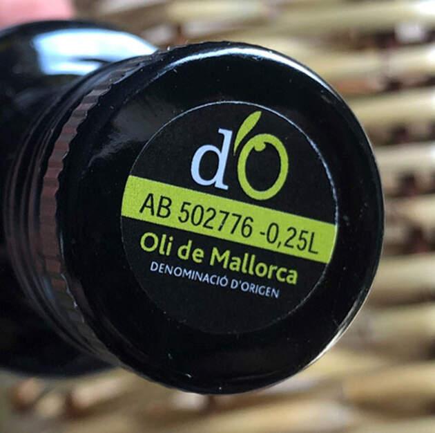 Oli d'oliva de Mallorca