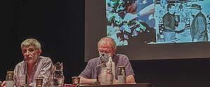Bernat Calafat ha remenat arxius i hemerotques per documentar la història d'aquests dos cellerers pagesos