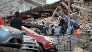 El terremoto ha dejado varias víctimas.