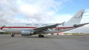 Imagen de un avión del 45 Grupo de Fuerzas Aéreas.