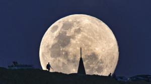 La superluna de octubre se podrá ver en todo el país