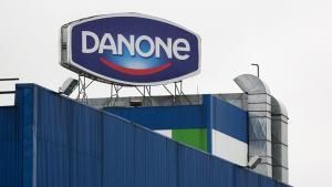 Imagen de una fábrica de Danone