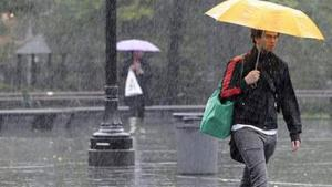 La lluvia afectaría sobretodo el centro y sur del país