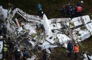 Avión siniestrado equipo de futból Chapecoense