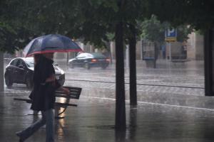 La lluvia caería especialmente las jornadas del domingo y el lunes