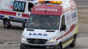 Ambulancia del SAMU de Valencia