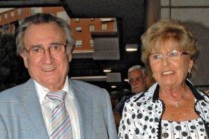 Manolo Escobar y su mujer, Anita Marx
