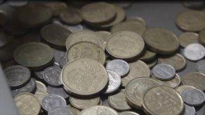 Se trata de siete monedas de peseta que podrían tener un elevado valor.