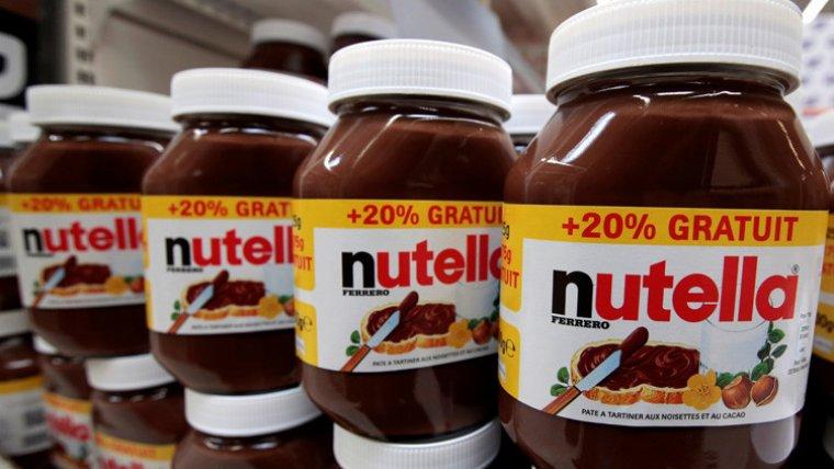 Tarros de Nutella.