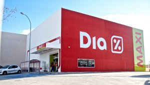 Imagen de supermercado DIA.
