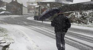 La nieve podría caer de cota hasta los 1.000 metros o incluso menos en las comunidades del norte del