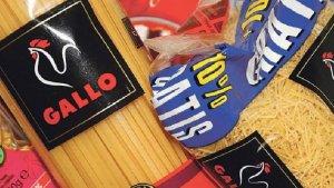 Pastas Gallo, a la venta