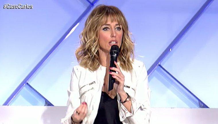 Emma garcía, presentadora de Mujeres y Hombres y Viceversa