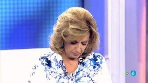 Captura de María Teresa Campos llorando