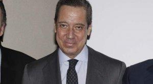 Eduardo Zaplana en la entrega de los premios Valle Inclán
