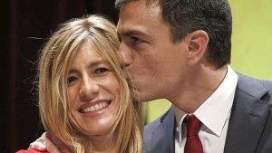 El líder socialista confía plenamente en su mujer.