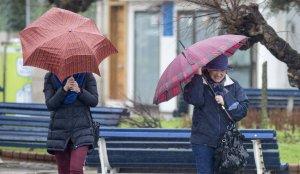 El viento y la lluvia se mantendrán en muchos puntos del país