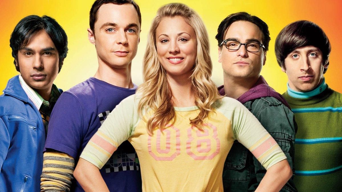 La serie 'The Big Bang Theory'