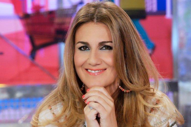 La presentadora Carlota Corredera