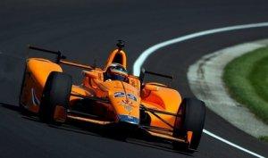 Fernando Alonso en las 500 millas de Indianápolis