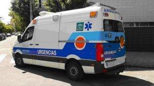 Imagen de una ambulancia en Córdoba
