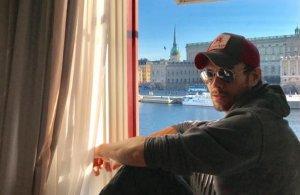 Enrique Iglesias en una imagen de su Instagram