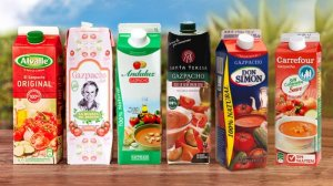 Los supermercados luchan por conseguir el mejor proveedor de gazpacho.