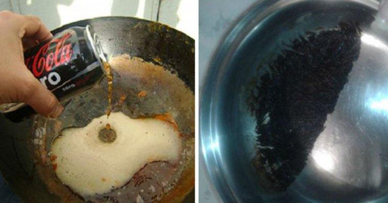 Los distintos usos de la coca cola que muchos desconocen - Quitar oxido coca cola ...
