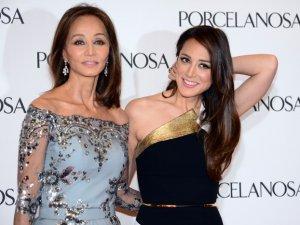 Isabel Preysler junto a su hija Tamara Falcó.
