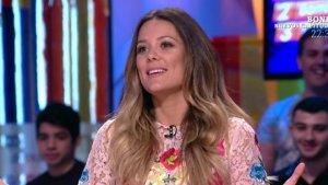 Lorena Gómez durante su entrevista en 'Zapeando'