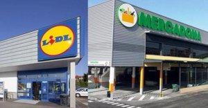 Supermercados Mercadona y Lidl