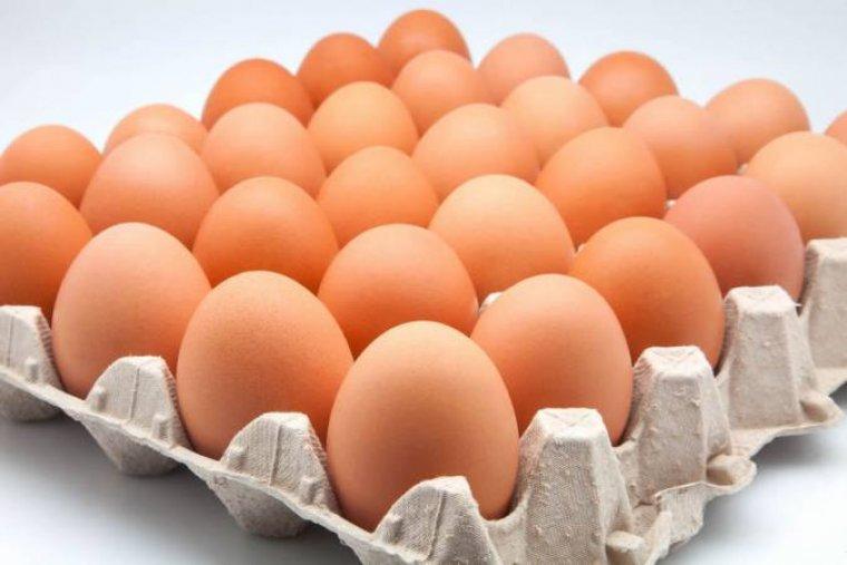Imagen de archivo de huevos.