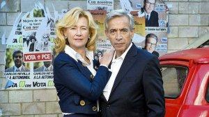 Ana Duato y Imanol Arias en 'Cuéntame como pasó'