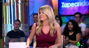 Anna Simón vuelve a 'Zapeando' tras un «proceso intestinal»
