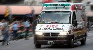 Imagen de archivo de una ambulancia de Córdoba