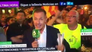 LA SEXTA manifestación barcelona