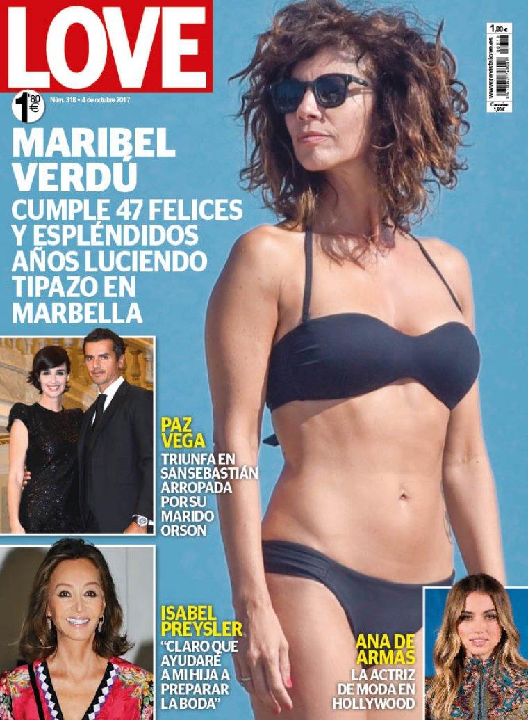 Anabel Verdu maribel verdú presume de cuerpo en la portada de la revista