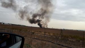 El accidente en Torrejón