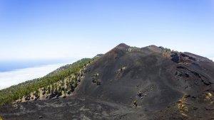 El parque natural Cumbre Vieja en La Palma, Islas Canarias