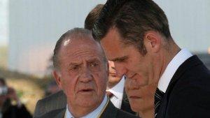 El rey Juan Carlos e Iñaki Urdangarín no tienen relación entre ellos