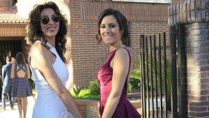 Imagen de Anna Ferrer y su madre Paz Padilla.