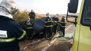 Imagen del trágico accidente